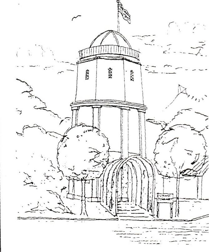 Kunstcenter i Strib Vandtårn